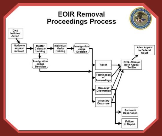 EOIR removal proceedings process
